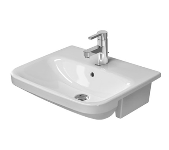 Duravit Durastyle 550 x 455mm Semi Recessed Basin