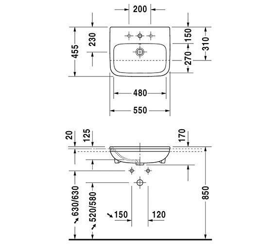 Technical drawing QS-V24893 / 0375550000