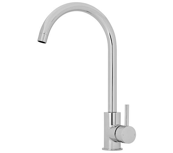 Premier 376.5mm High Single Side Lever Kitchen Sink Mixer Tap