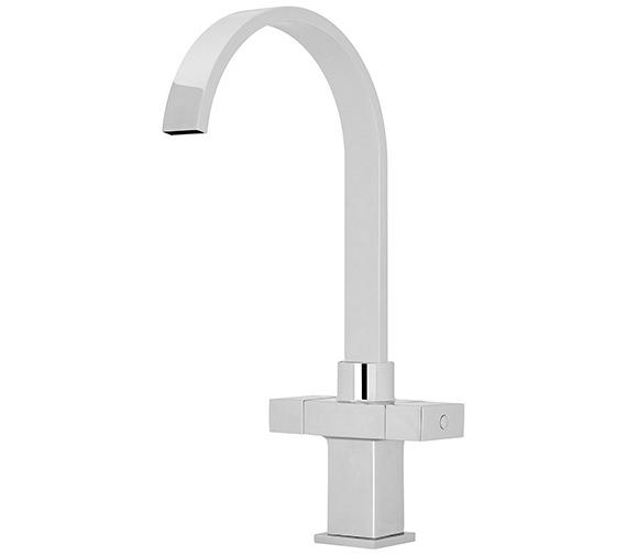 Nuie Premier 346mm High Dual Handle Kitchen Sink Mixer Tap