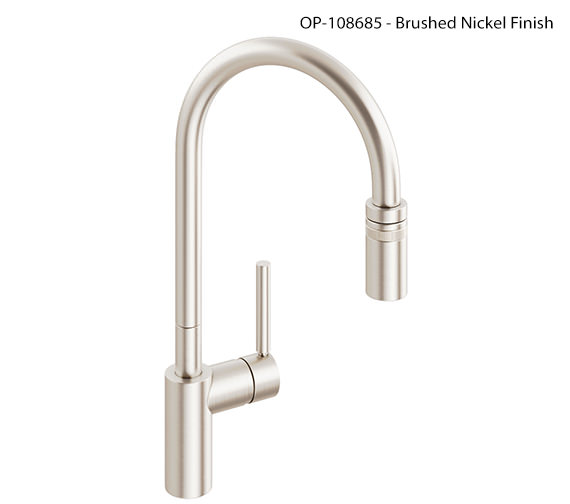 Additional image of Abode Ratio Single Lever Pull Out Kitchen Mixer Tap - AT1049