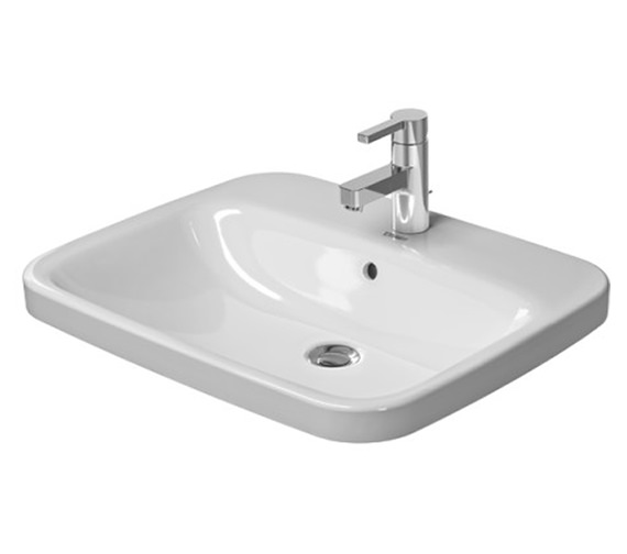 Duravit Durastyle 615 x 495mm 1 Tap Hole Counter Top Vanity Basin