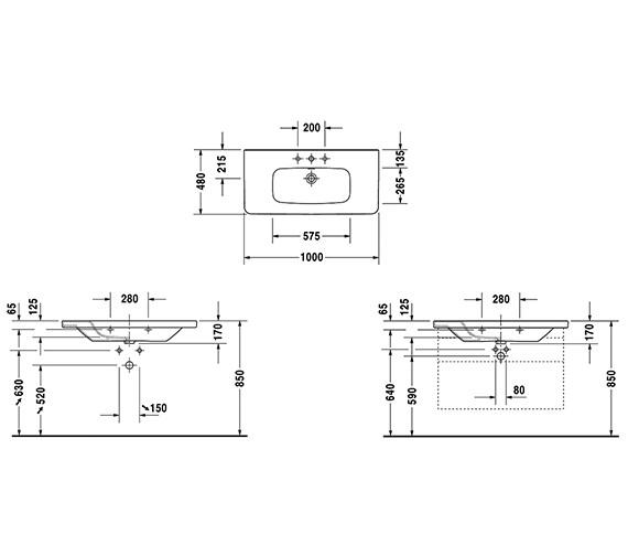 Technical drawing QS-V24899 / 2320100000
