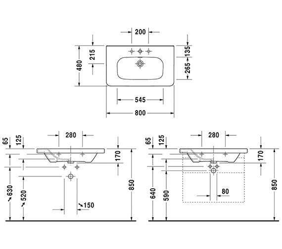 Technical drawing QS-V24898 / 2320800000