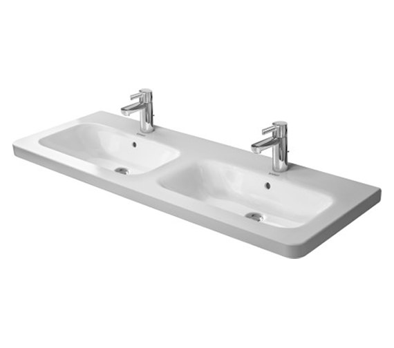Duravit DuraStyle 1300 x 480mm Double Furniture Washbasin