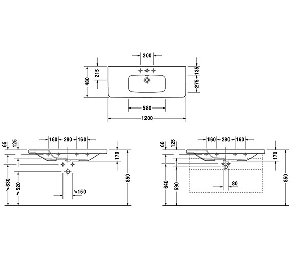 Technical drawing QS-V24900 / 2320120000