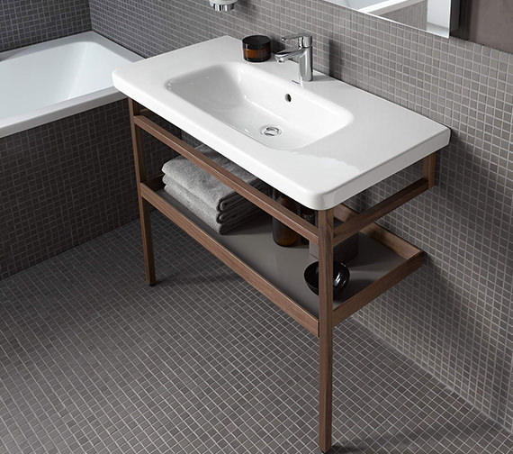 Additional image of Duravit DuraStyle 1200 x 480mm 1Taphole Furniture Washbasin With Overflow
