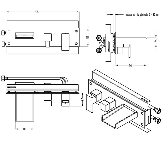 Technical drawing QS-V9999011 / WS432WC