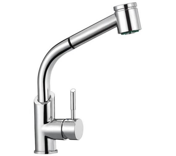Mayfair Costa Mono Kitchen Mixer Tap With Pull Out Nozzle Chrome