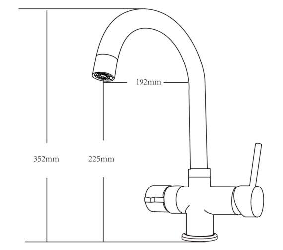 Technical drawing QS-V87518 / KIT700