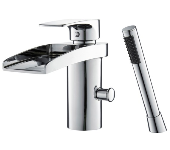 Mayfair Ohio Open Spout Mono Bath Shower Mixer Tap With Kit
