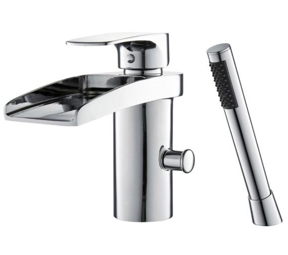 Mayfair Ohio Open Spout Mono Bath Shower Mixer Tap With Kit