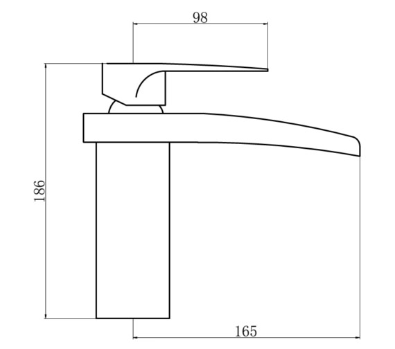 Technical drawing QS-V87521 / OHI050