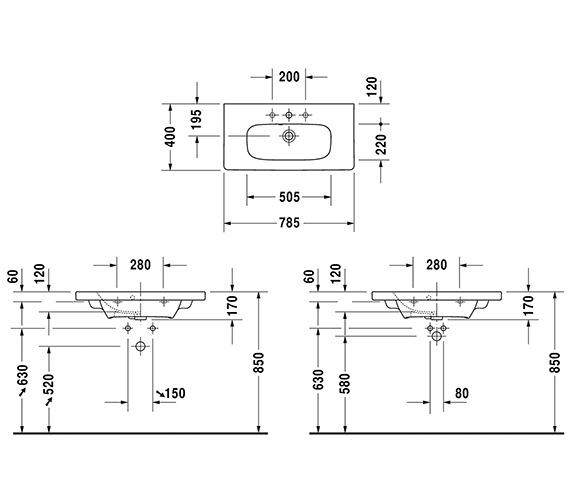 Technical drawing QS-V6328 / 2337780000