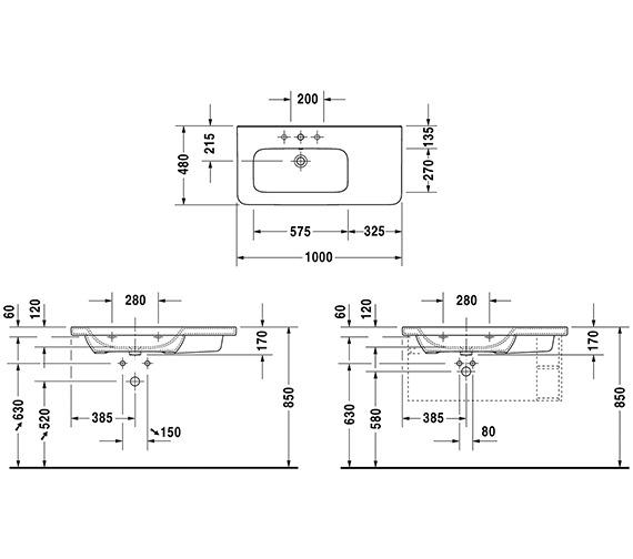 Technical drawing QS-V6330 / 2325100000