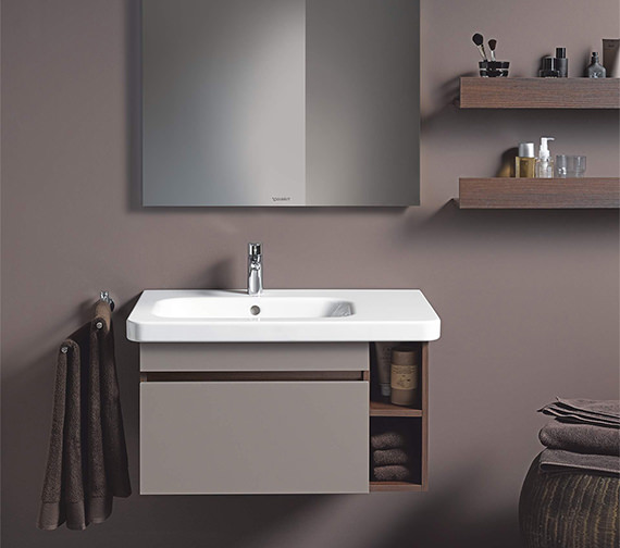 Duravit Durastyle 800 X 480mm Asymmetric Left Bowl