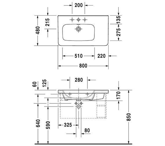 Technical drawing QS-V24902 / 2325800000