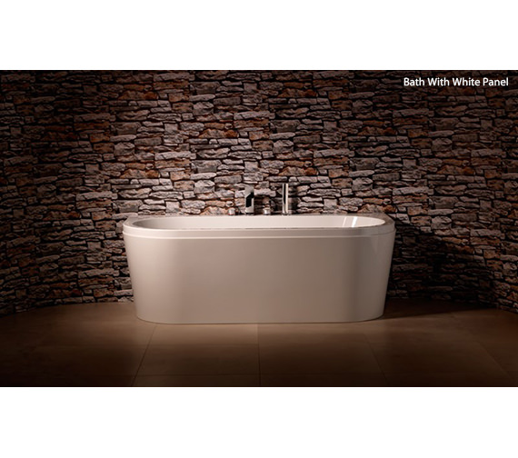 Carron Halcyon D 5mm Acrylic Double Ended Bath 1750 x 800mm