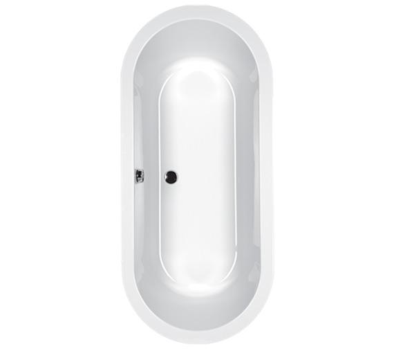 Carron Halcyon Oval Acrylic Inset Bath 5mm - 1750 x 800mm