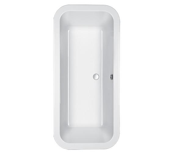 Carron Halcyon Square 5mm Acrylic Inset Bath 1750 x 800mm