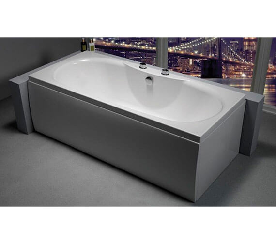 Carron Equation Double Ended 5mm Acrylic Bath 1700 x 750mm