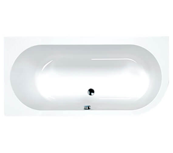 Additional image of Carron Status 5mm Acrylic Double Ended Bath 1700 x 725mm