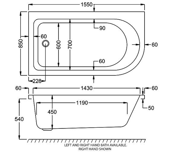Technical drawing QS-V18912 / Q4-02400