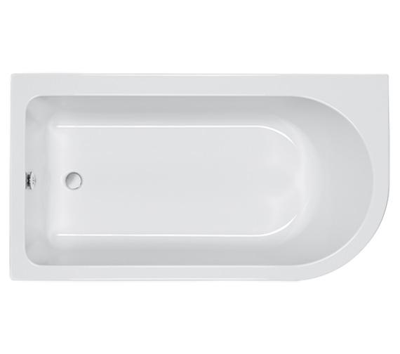Carron Status 5mm Acrylic Shower Bath 1550 x 850mm