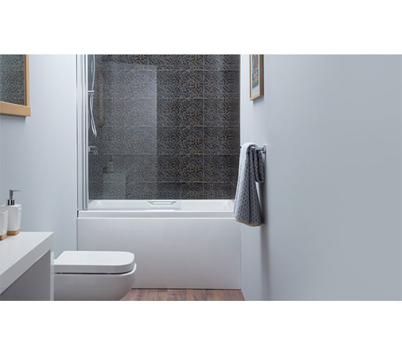 Carron Urban Acrylic Sit Bath - 5mm - 1250 x 725mm