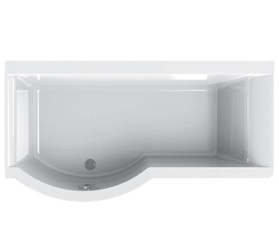 Carron Urban 5mm Acrylic Shower Bath 1500 x 750-900mm - Left Hand
