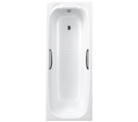 Carron Swallow Single Ended 5mm Acrylic Bath With Twin Grip 1800 x 700mm
