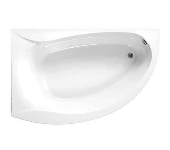 Carron Omega 5mm Acrylic Corner Bath 1700 x 1000mm - Right Hand