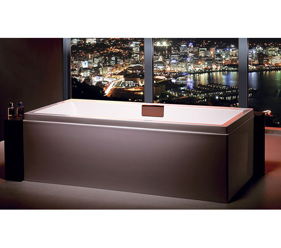 Carron Celsius Double Ended Carronite Bath 1800 x 800mm