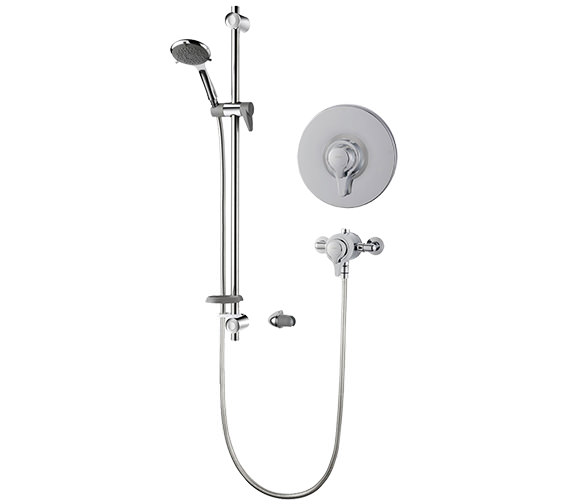 Triton Eden Extended Concentric Mixer Shower Valve With Complete Shower Kit
