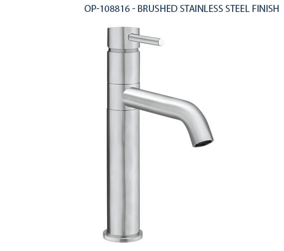 Additional image of Crosswater Cucina Design Chrome Single Lever Kitchen Sink Mixer Tap