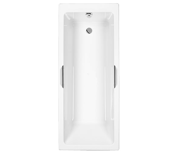 Carron Quantum Integra Single Ended 5mm Acrylic Bath With Grips 1600 x 700mm