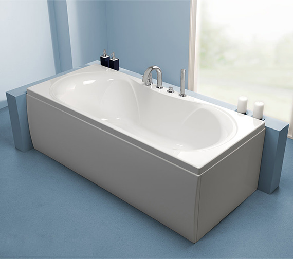 Carron Arc Double Ended 5mm Acrylic Bath 1700 x 750mm