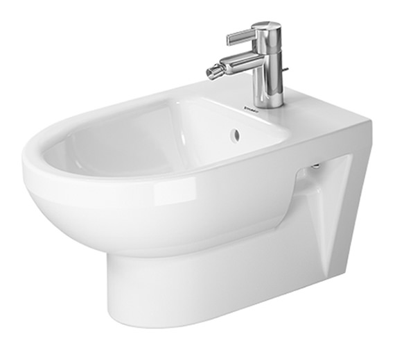 Duravit DuraStyle 370 x 540mm Wall Mounted Basic Bidet