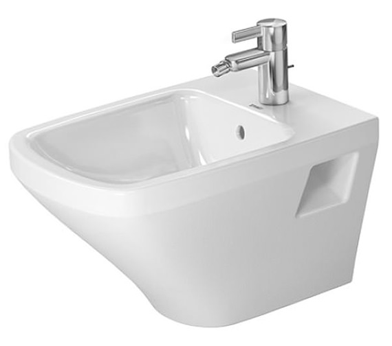 Duravit DuraStyle 370 x 540mm Wall Mounted Bidet With Overflow