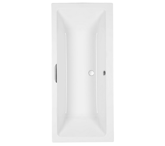 Carron Quantum Integra Acrylic Double Ended Bath With Grip - 5mm - 1700 x 750mm