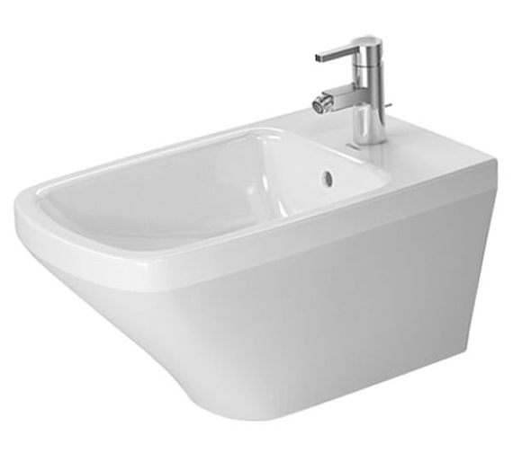 Duravit DuraStyle 370 x 620mm 1 Tap Hole Wall Mounted Bidet