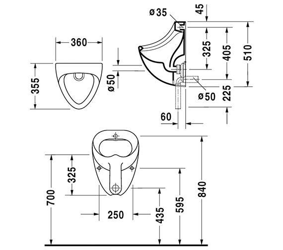Technical drawing QS-V45513 / 0851350000