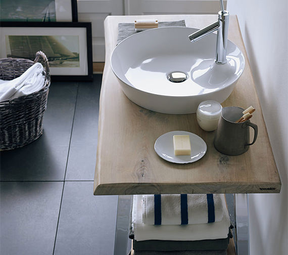 Additional image of Duravit Cape Cod 480mm Round Wash Bowl - 2328480000