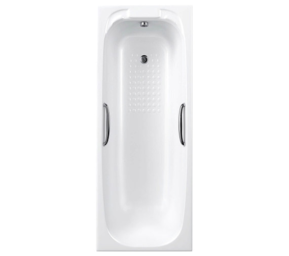 Carron Swallow Single Ended Acrylic Bath 8mm With Twin Grip 1700 x 700mm