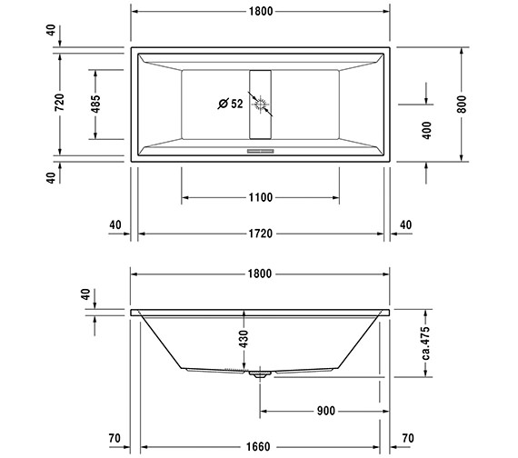 Technical drawing QS-V63192 / 760076000CL1000