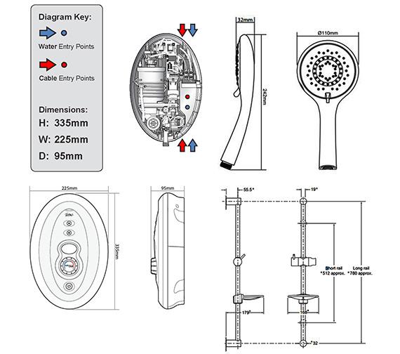 Technical drawing QS-V40025 / ASP1I49SI