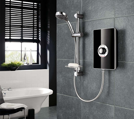 Triton Aspirante White Gloss Electric Shower 8.5 KW - ASP08GSWHT