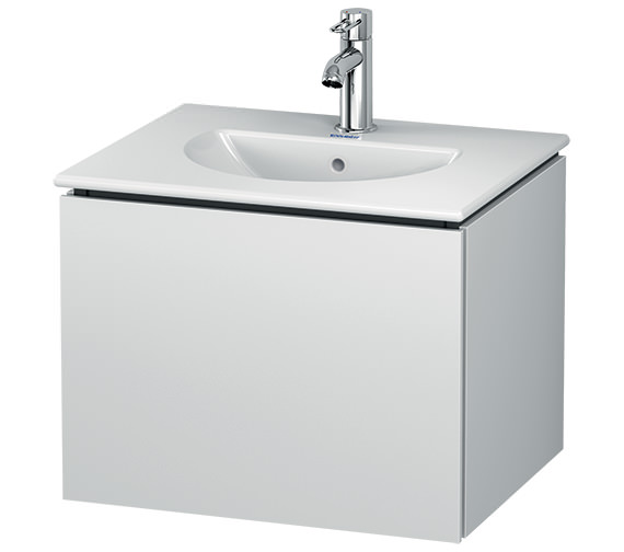 Duravit L-Cube Wall Mounted 1 Drawer Vanity Unit For Darling New Basin