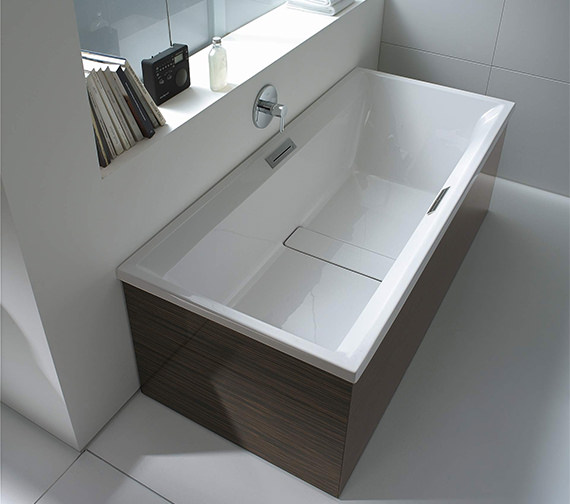 Duravit 2nd Floor Built In Double Ended Whirlbath With Jet System 1800mm