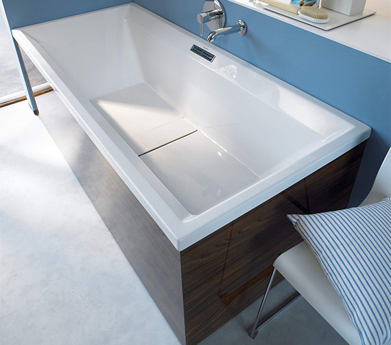 Alternate image of Duravit 2nd Floor Built In Double Ended Whirlbath With Jet System 1800mm